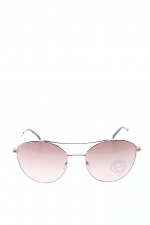 Fielmann Panto Brille pink Casual-Look