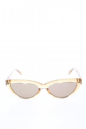 Fielmann Retro Glasses gold-colored casual look