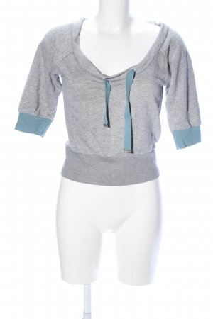 Fiftyfive DSL Sweatshirt meliert Casual-Look