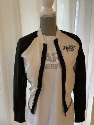 Fiftyfive DSL Veste chemisier noir-blanc