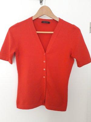 Strenesse Cardigan rouge brique laine