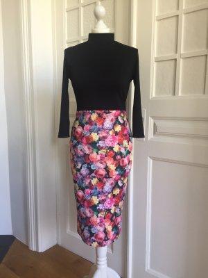 Ołówkowa sukienka Wielokolorowy