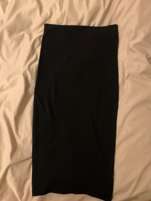 Pull & Bear Stretch Skirt black