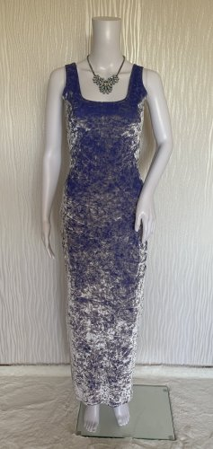 Figurbetontes Abendkleid Ballkleid aus Samt Gr. XS/S