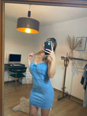 Boutique Comtesse Jeansowa sukienka błękitny