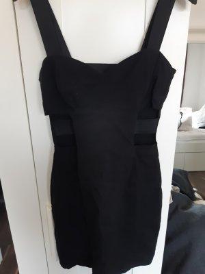 H&M Divided Robe péplum noir