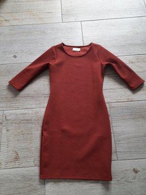 bien bleu Longsleeve Dress carmine-russet