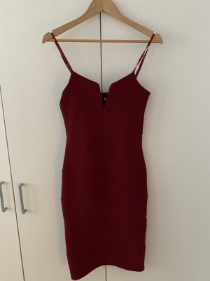 Pretty Body Evening Dress bordeaux