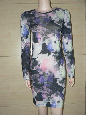 Figurbetontes Kleid gemustert