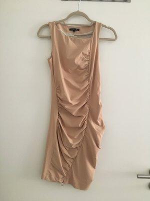 Figurbetontes Kleid in nude von Patrizia Pepe