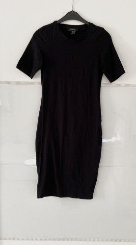 figurbetontes Kleid in schwarz gr. 36/38