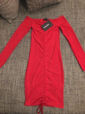 Figurbetontes Kleid Rot Neu 36
