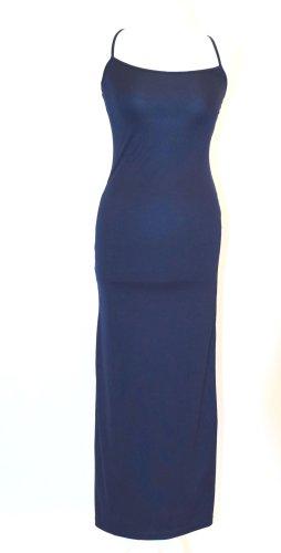 Figurbetontes, langes Kleid