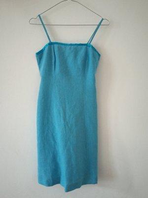 figurbetontes Leinenkleid Trägerkleid Sommerkleid