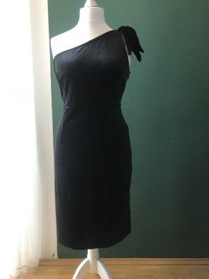 C&A Sukienka na jedno ramię czarny Elastan