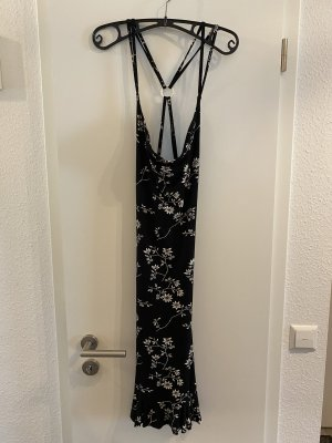 Figurbetontes schwarzes Kleid XS/S