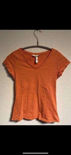 Adidas NEO T-shirt pomarańczowy neonowy