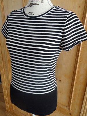 Banana Republic T-Shirt black-white cotton
