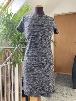 24 colours T-shirt jurk zwart-wolwit