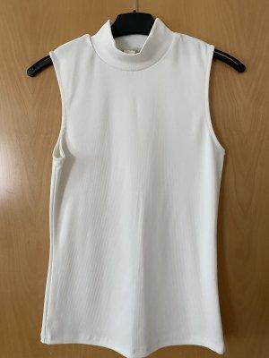 H&M Top basic bianco