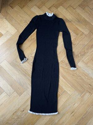 H&M Tubino nero-bianco