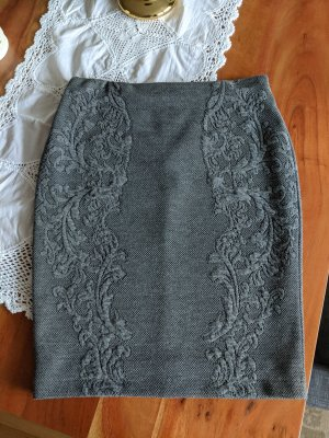 H&M Jupe stretch gris