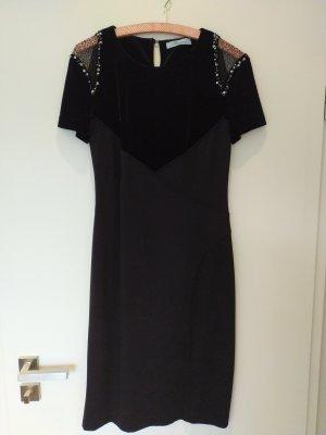 Blumarine Sukienka z krótkim rękawem czarny