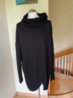 Guess Dzianinowa kopertowa kurtka czarny