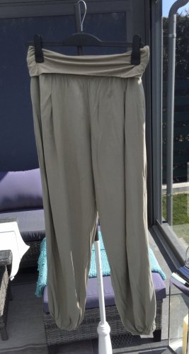 100% Fashion Pantalon large kaki