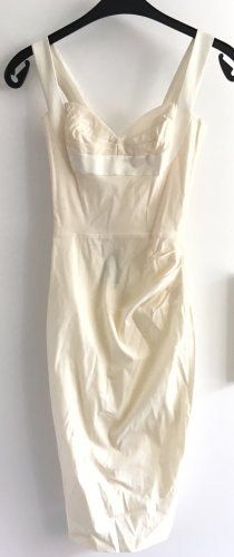 Hybrid Bustier Dress cream