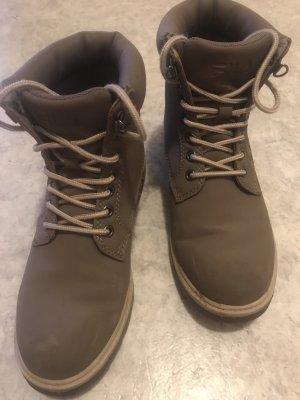 Fila Halfhoge laarzen grijs-bruin