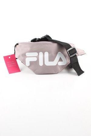 Fila Bauchtasche pink-weiß Schriftzug gedruckt Casual-Look
