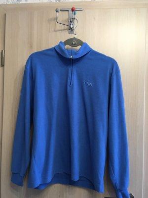 Fila Pullover in pile blu