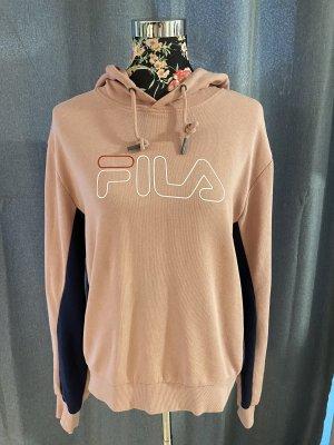 Fila Hooded Sweater light pink-blue cotton