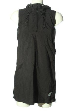Fila Robe à capuche noir style décontracté