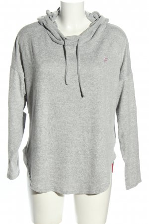 Fila Jersey con capucha gris claro moteado look casual