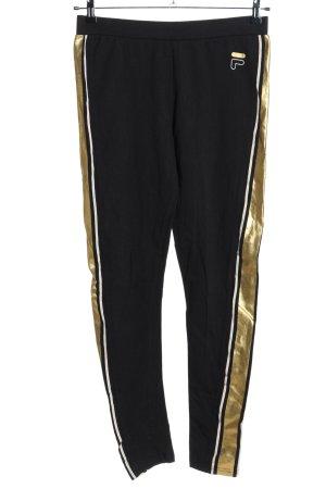 Fila Leggings black-gold-colored casual look