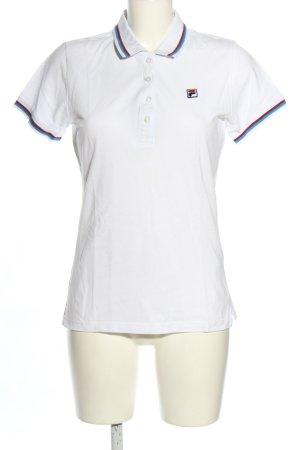 Fila Polo shirt veelkleurig casual uitstraling