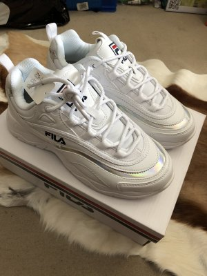 Fila Ray Silver Trainers