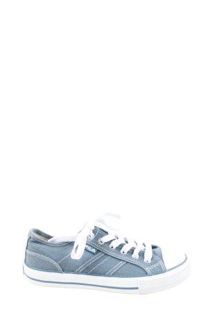 Fila Schnürsneaker blau Casual-Look
