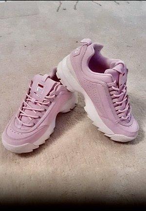 Fila Heel Sneakers light pink-white
