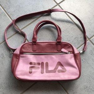 Fila Bolsa de gimnasio burdeos-rosa