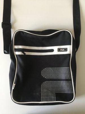 Fila Bolsa de gimnasio negro-blanco
