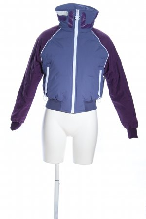 Fila Quilted Jacket blue-lilac casual look