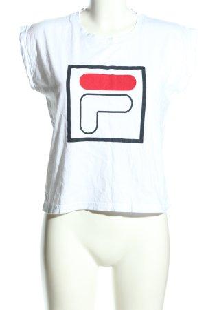 Fila Tank Top themed print casual look