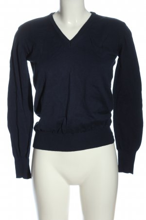 Fila V-Neck Sweater blue casual look