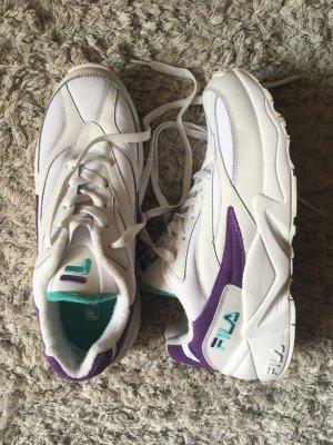 Fila V94 M Low Sneaker weiß lila türkis Größe 40