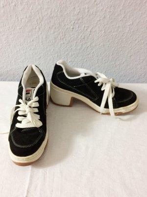 Fila Wedge Sneaker mit Absatz Wildleder Gr. 40