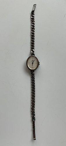 Royal Montre avec bracelet métallique argenté