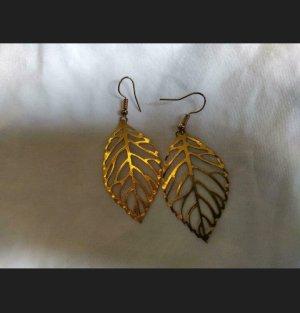 Sheinside Pendientes de oro color oro